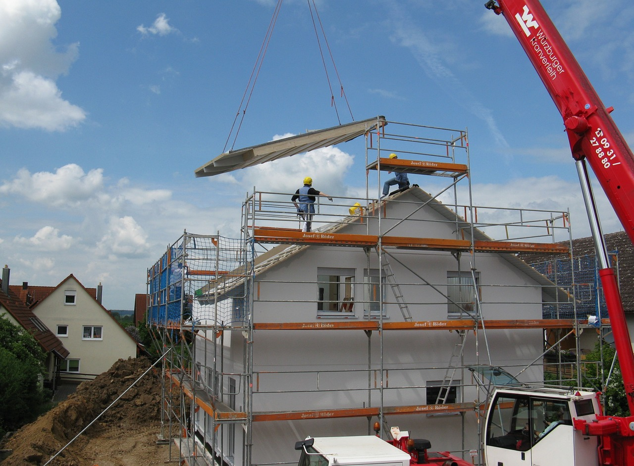 Wasserschäden in der Bauphase werden mit der Bautrocknung schnell wieder behoben